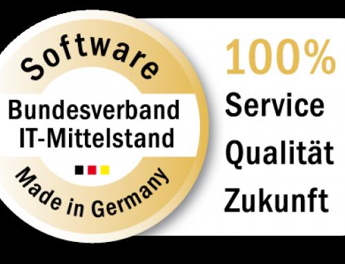 """aescoLOGIC GmbH für das Produkt """"m.o.p.s – modulares OP-System"""" mit BITMi-Gütesiegel """"Software Made in Germany"""" ausgezeichnet"""