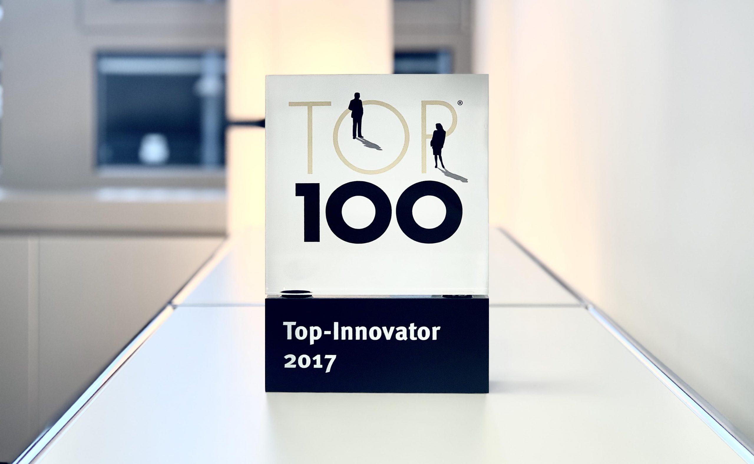 Auszeichnung Top-Innovator 2017